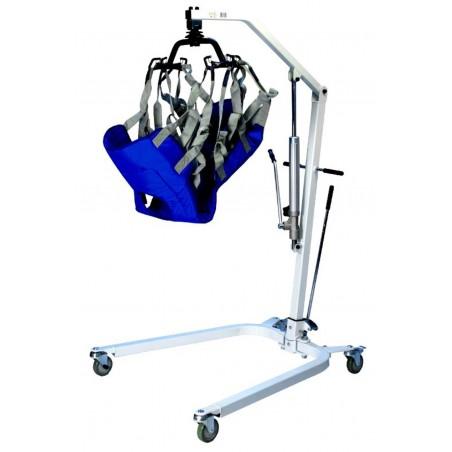 Sollevamalati mobile idraulico Pazienti lungodegenti art.ParaSO5