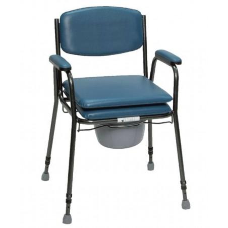 Sedia comoda in acciaio altezza regolabile art.ParaSE4