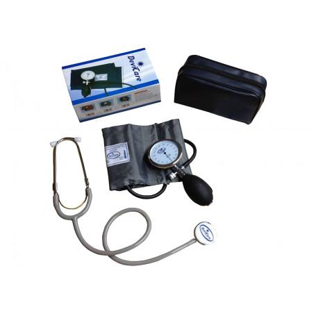 Misuratore di pressione sfigmomanometro palmare aneroide manuale art.ParaSTO24